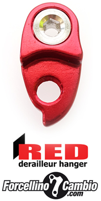 Red Hanger derailleur hanger extension