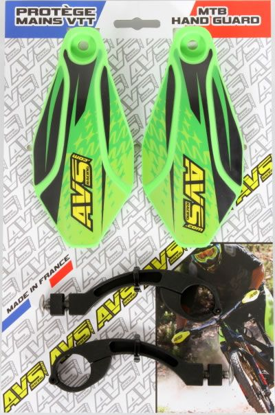 Handguard MTB kit AVS Racing aluminum light green