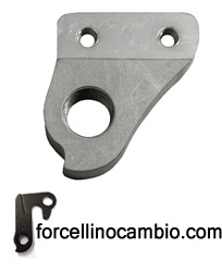 Forcellino cambio NS Bikes Soda Air 2013