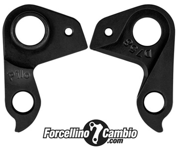 Derailleur Hanger Fantic XF1 Integra CARBON 160mm