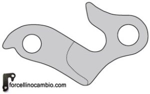 Derailleur hanger bicycle Rockrider 5.3 - 2011