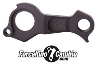Forcellino cambio Canyon Spectral AL 2016