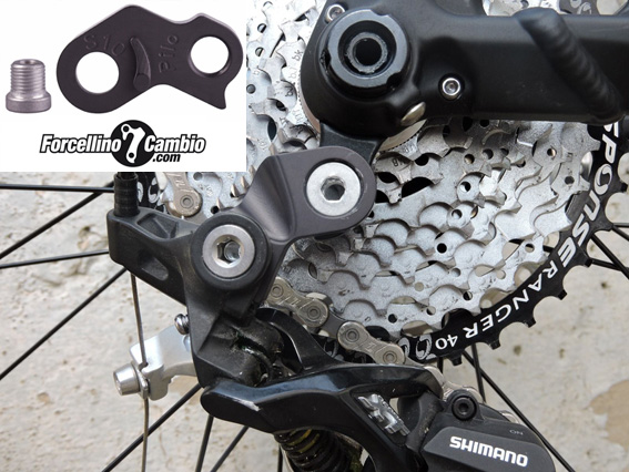 S10 adapter for Shimano Shadow direct link rear derailleur